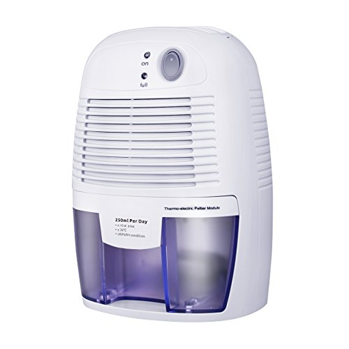 Victsing dehumidifier portable air dehumidifier for home intelligent auto off home small for Small dehumidifier for bedroom