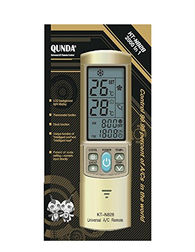 Gold Color Ac Remote Control For Carrier Trane Toshiba