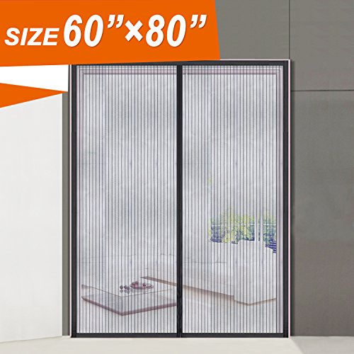 Magnetic Screen Door Screen Mesh 32 X 80 Fit Doors Size