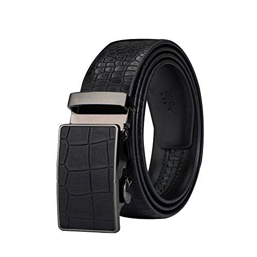 Belt Automatic Buckle Belt MenS Genuine Cowhide Commercial Alloy