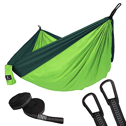 ARAER Camping Hammock Single Double Ultra-Light Breathable Quick-Drying Nylon 2