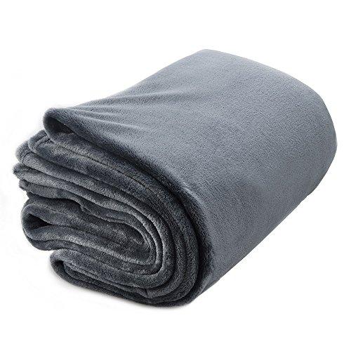 Sable Throw Blanket For Bed Flannel Fleece Velvet Super